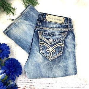 👖|•ROCK REVIVAL•| 'Elaina' Easy Boot Jeans